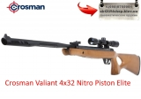 Crosman Valiant 4x32 Nitro Piston Elite - Пневматическая винтовка Crosman Valiant новинка в Украине от американской компании Crosman. Valiant пневматическая винтовка с новой газовой пружиной Nitro Piston Elite от Crosman, оснащена лидирующим на рынке пневматического оружия шумоподавителем SBD (so
