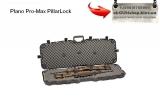 Plano Pro-Max PillarLock - Кейс Plano Pro-Max PillarLock двойной - защитный кейс черного цвета для безопасного хранения и транспортировки винтовки.