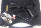 SIG Sauer P228 Retay Baron HK кал. 9 мм. Пистолет стартовый - SIG Sauer P228 Retay Baron HK кал. 9 мм. Пистолет стартовый Retay Baron HK, является полуавтоматическим стартовым пистолетом – репликой модели SIG Sauer P228 с рычагом безопасного снятия курка с боевого взвода. Пистолет предназначен для отстрела холостых