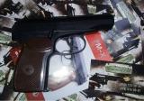Пистолет Макарова PM-X - характеристики пневматического пистолета Макарова PM-X: Пистолет полностью изготовлен из пластика. Цвет корпуса черный.  Цвет рукояти коричневый. Вес 270 граммов.