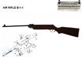 AIR RIFLE B1-1 пневматическая винтовка