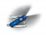 Нож Victorinox Signature Lite blue с ручкой,прозр (0.6226.T2)