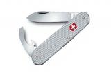 Нож Victorinox Alox Bantam с серебристой ручкой( 0.2300.26)