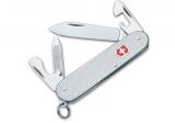 Нож Victorinox Cadet с серебристой ручкой (0.2601.26)