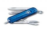 Нож  Victorinox Signature с ручкой,прозрачный синий (0.6225.T2)