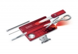 Набор Victorinox SwissCard Lite ,красный (0.7300.T )