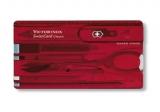 Набор Victorinox Swiss Card Rubi ,красный (0.7100.T)